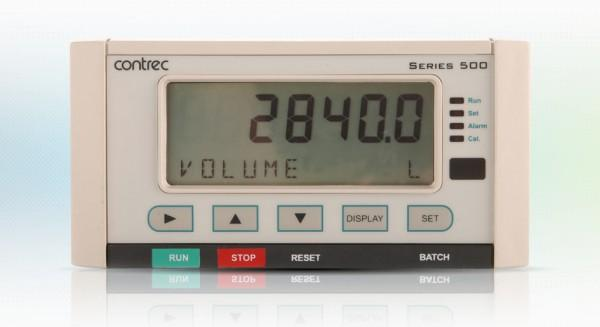 505 BC1 Dual Stage Batch Controller for Volumetric Frequency Flowmeters by Contrec