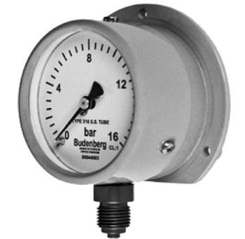 566GP Bourdon Tube Pressure Gauge Budenberg Australia @ Procon Instrument Technology