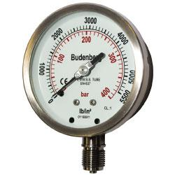 736 100mm Pressure Gauge by Bundenberg Australia