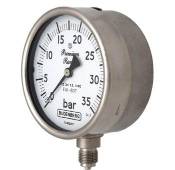 966GP Bourdon Tube Pressure Gauge Budenberg Australia @ Procon Instrument Technology