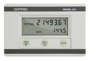 Contrec 202D Field Mounted Rate Totaliser